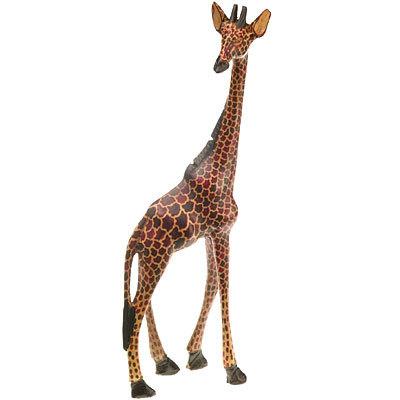 Giraffe aus Holz - Cafe Jambo